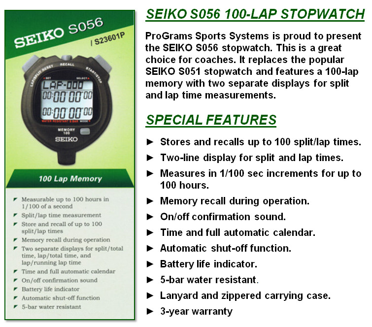 Jual Stopwatch Seiko S056 Pusat Penjualan Stopwatch Seiko S056